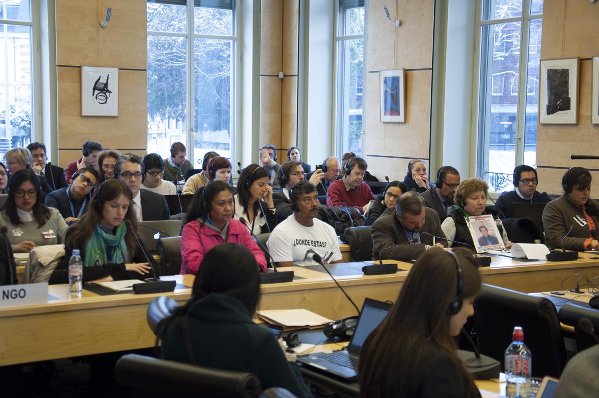 Caso Ayotzinapa: padres de estudiantes exigen en la ONU que se reabran investigaciones
