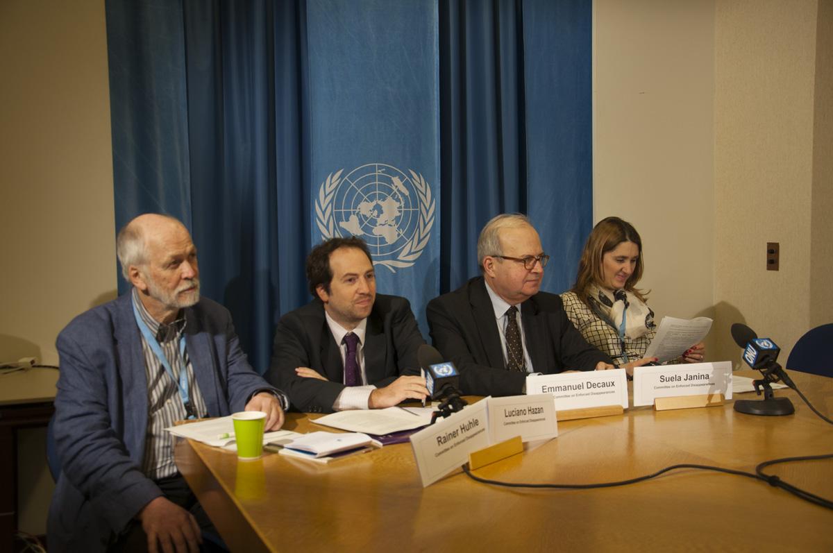 México debe reconocer quejas individuales ante Comité de la ONU contra desaparición forzada