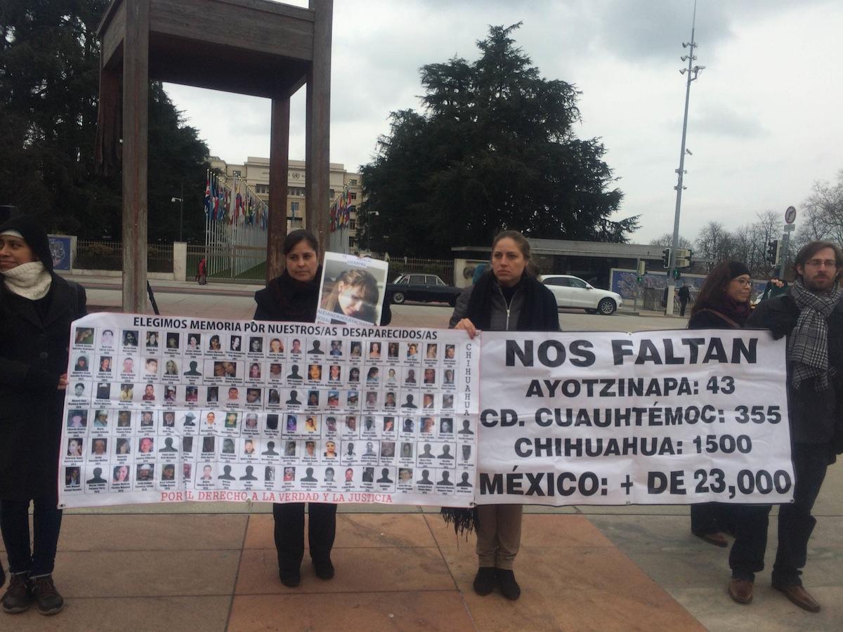 Impunidad: común denominador de las desapariciones forzadas en México