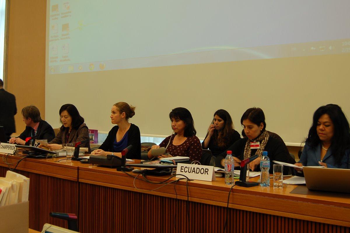 Ecuador evitó en la ONU responder preguntas sobre la criminalización del aborto