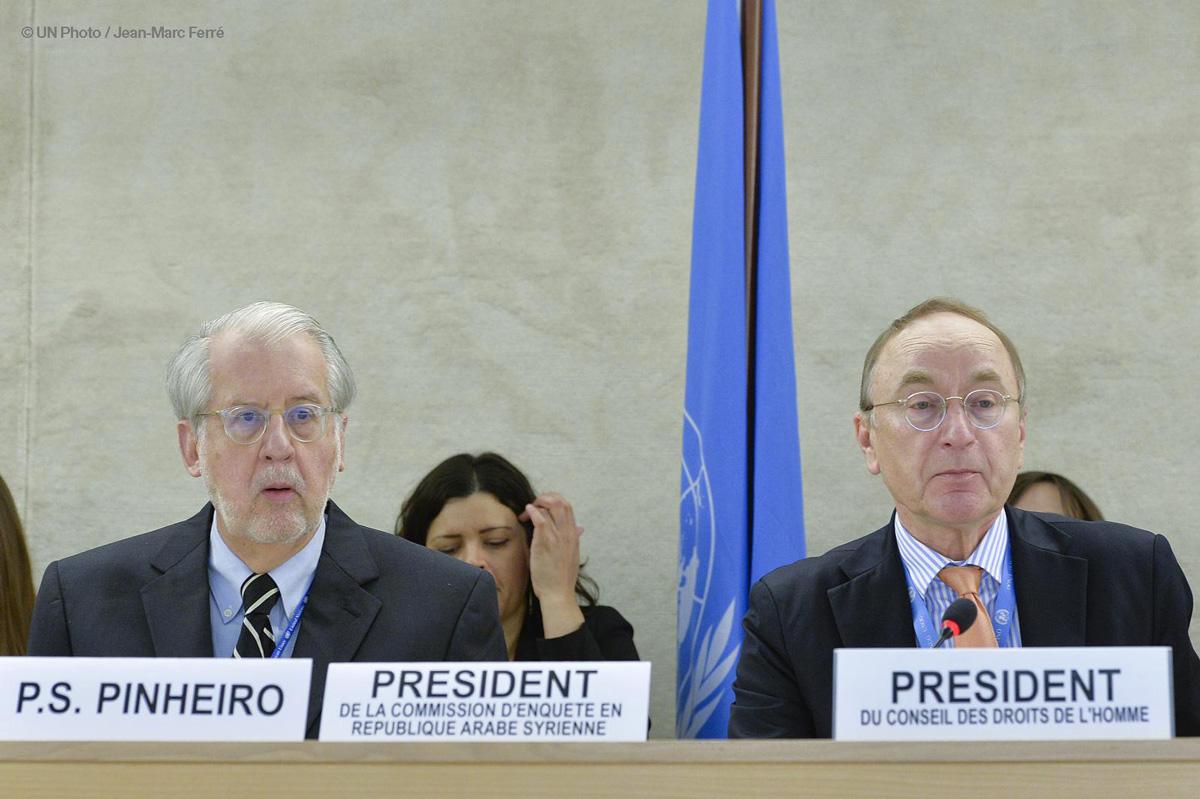ONU lamenta desprecio por los derechos humanos en el marco del conflicto en Siria
