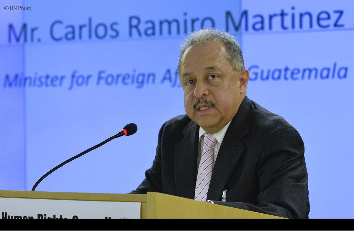 Guatemala informó a la ONU sobre sus políticas en derechos humanos