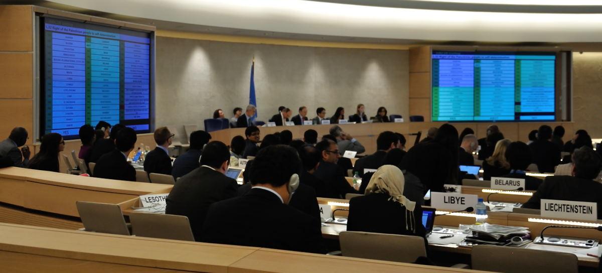 ONU reafirma derecho de Palestina a la autodeterminación