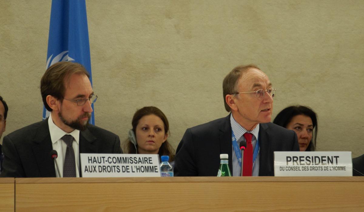 Concluyó sesión del Consejo de Derechos Humanos de la ONU