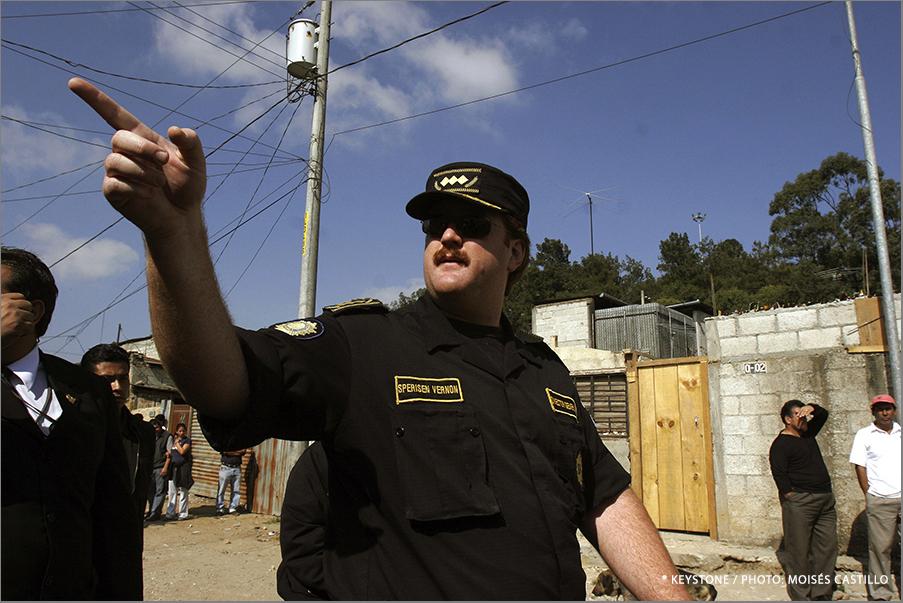 Suiza juzga en apelación a Erwin Sperisen, exjefe de la policía guatemalteca