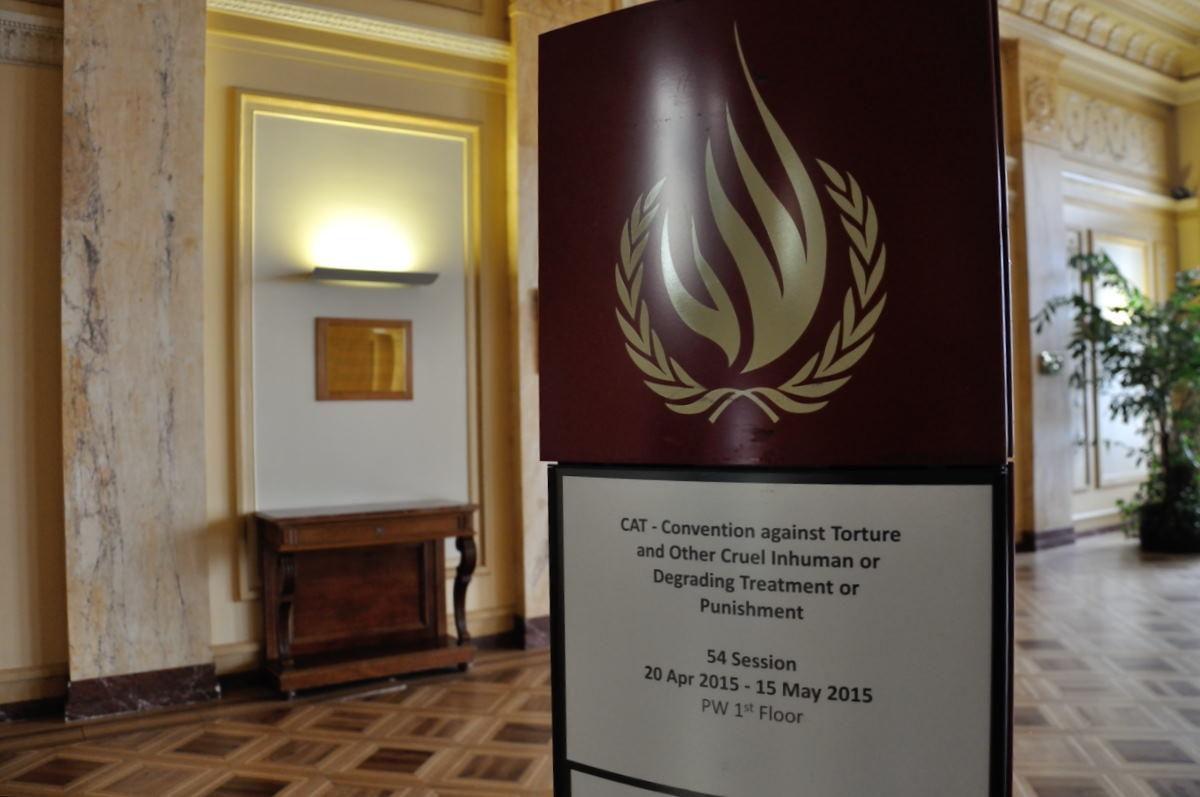Fotoreportaje: España frente al Comité contra la Tortura