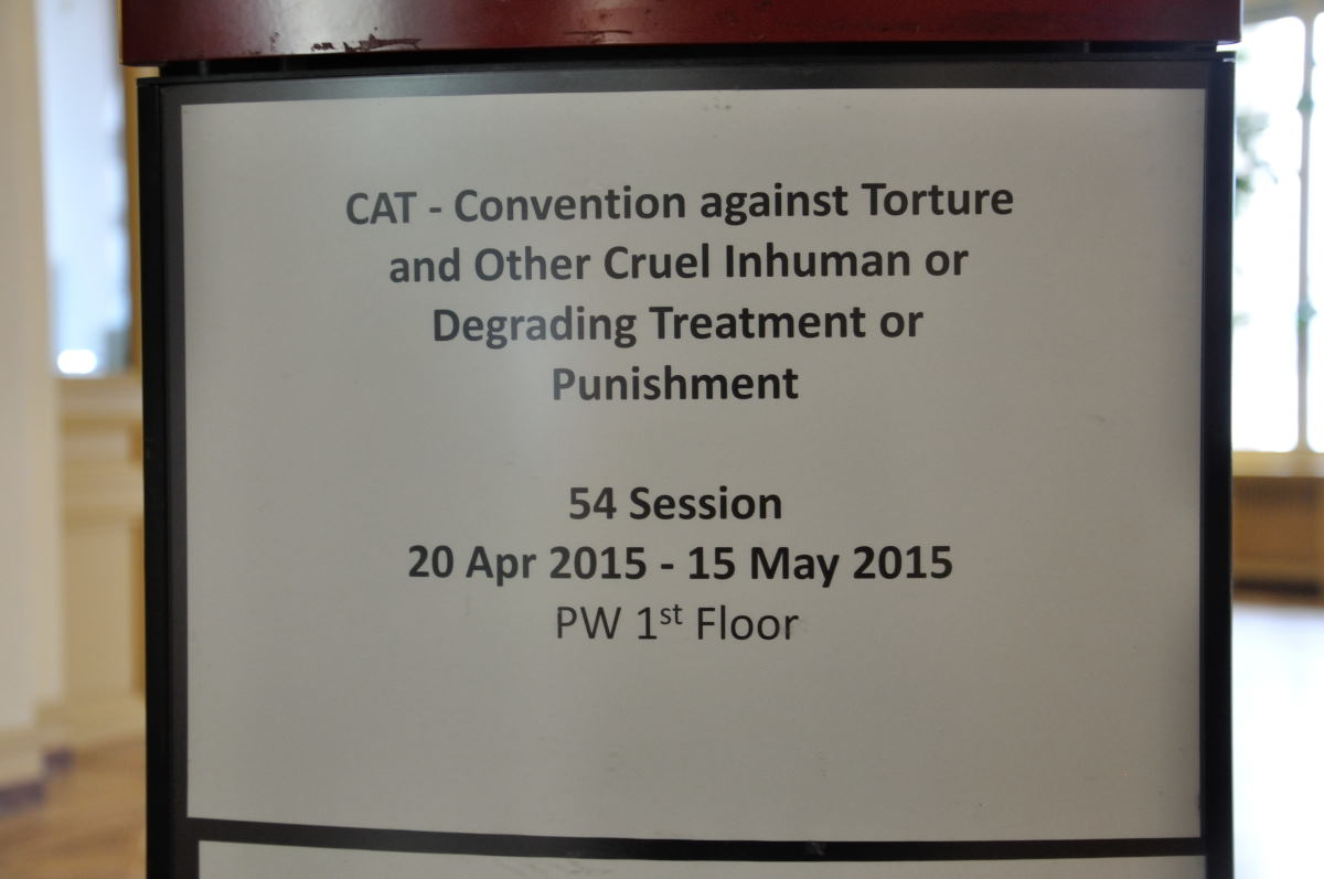 ONU preocupada por la impunidad en casos de tortura en España