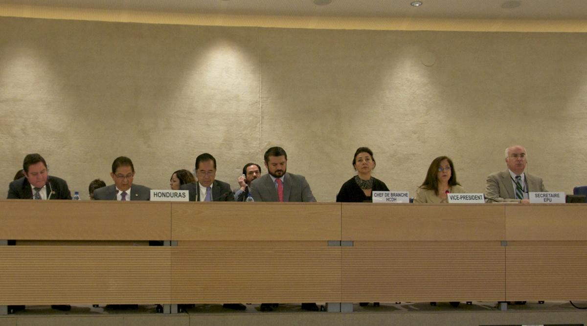 EPU: Honduras aplaza decisión sobre ratificación de instrumentos internacionales