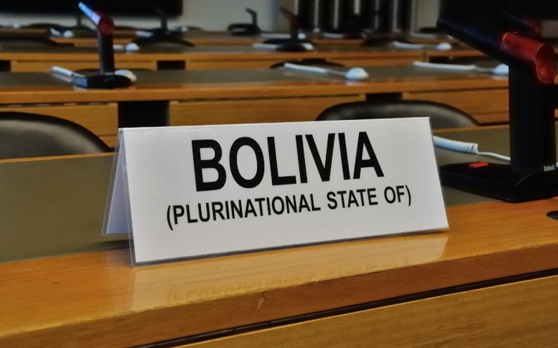 Fotoreportaje: Bolivia responde ante Comité sobre discriminación contra la mujer