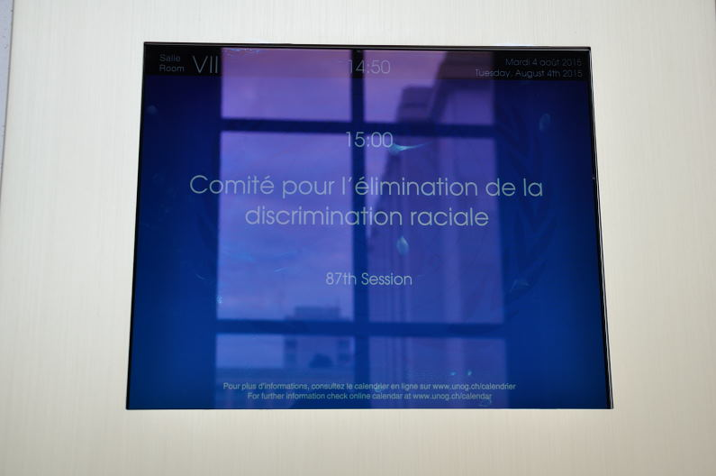 Reportaje fotográfico: Comité contra Discriminación Racial examina a Colombia