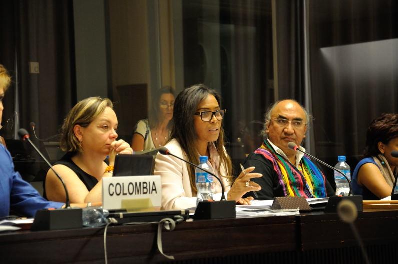 Reportaje fotográfico actualizado: segundo día de Colombia ante el CERD