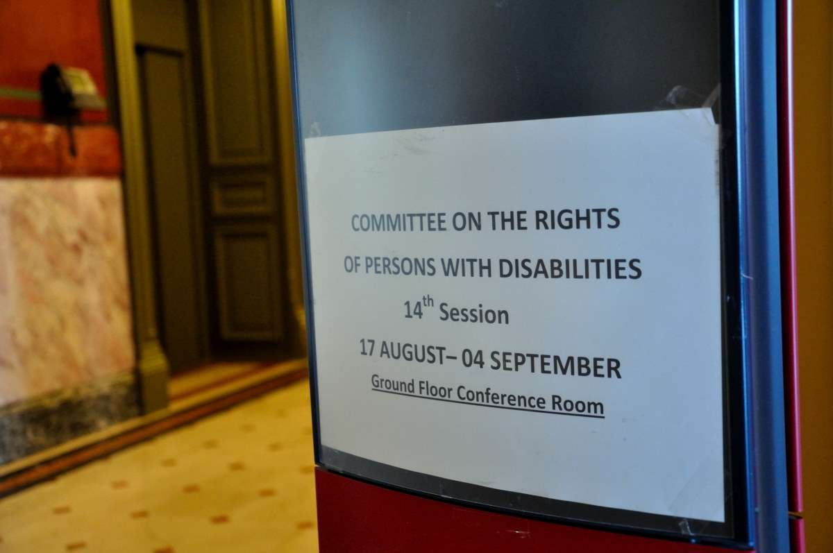 Unión Europea ante Comité de la ONU sobre discapacidad: un examen inédito