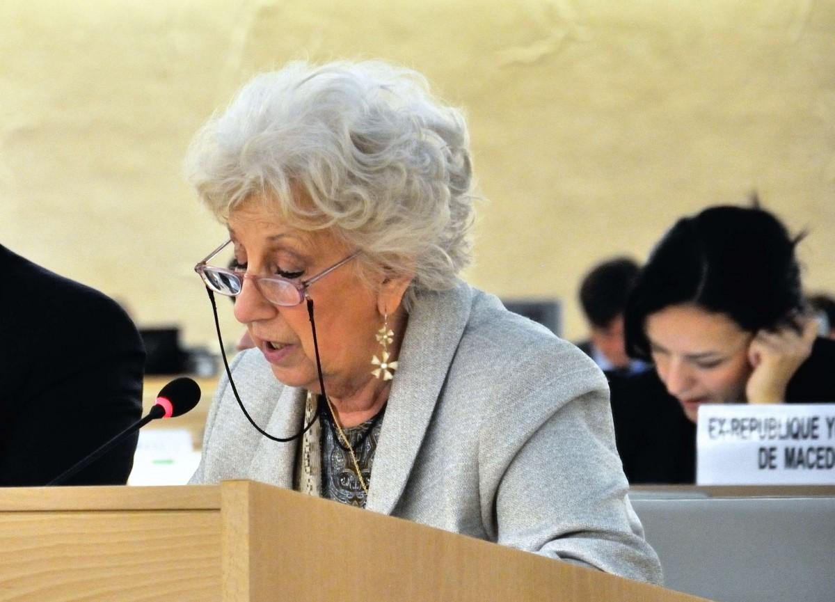 Abuela de Plaza de Mayo agradeció a la ONU la búsqueda de los desaparecidos