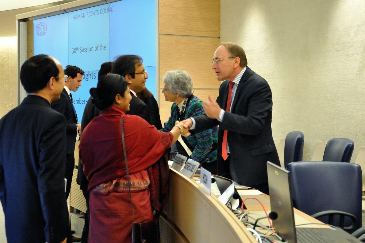 Consejo de Derechos Humanos concluyó su última sesión de 2015