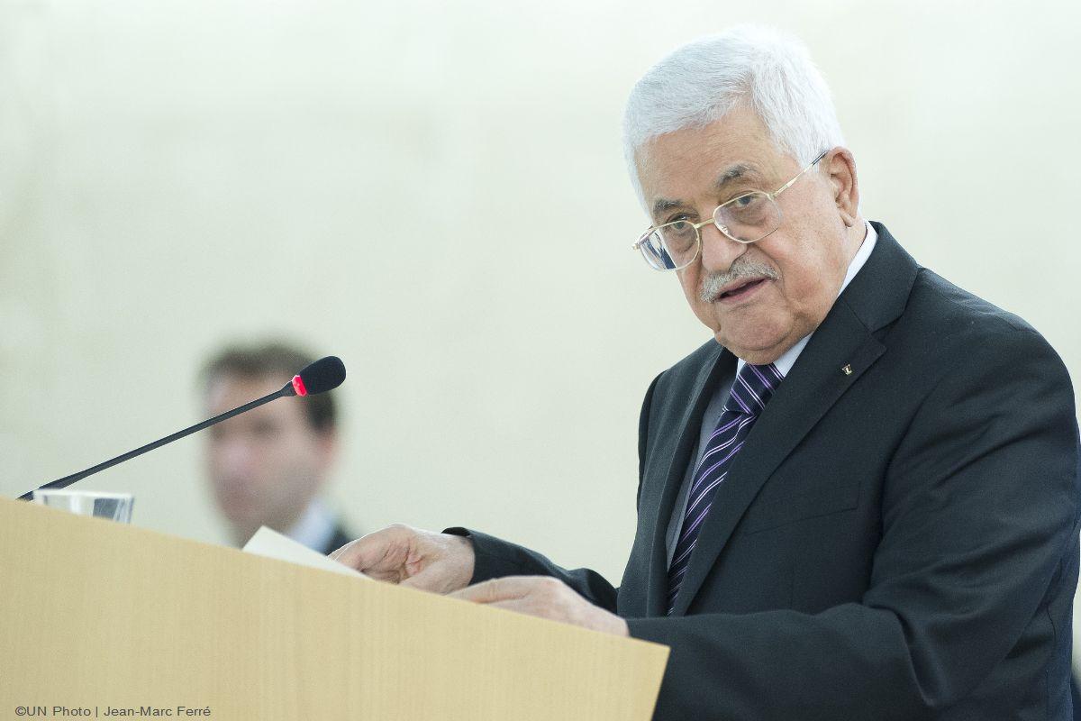 Presidente palestino pide a la ONU protección para su pueblo