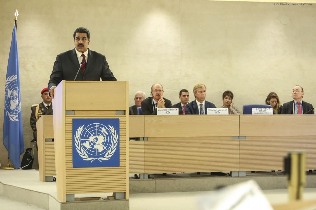 """""""No se dejen usar"""": Maduro al Consejo de Derechos Humanos"""