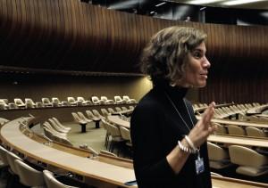 Rachael Kay, directora ejecutiva adjunta de IFEX.