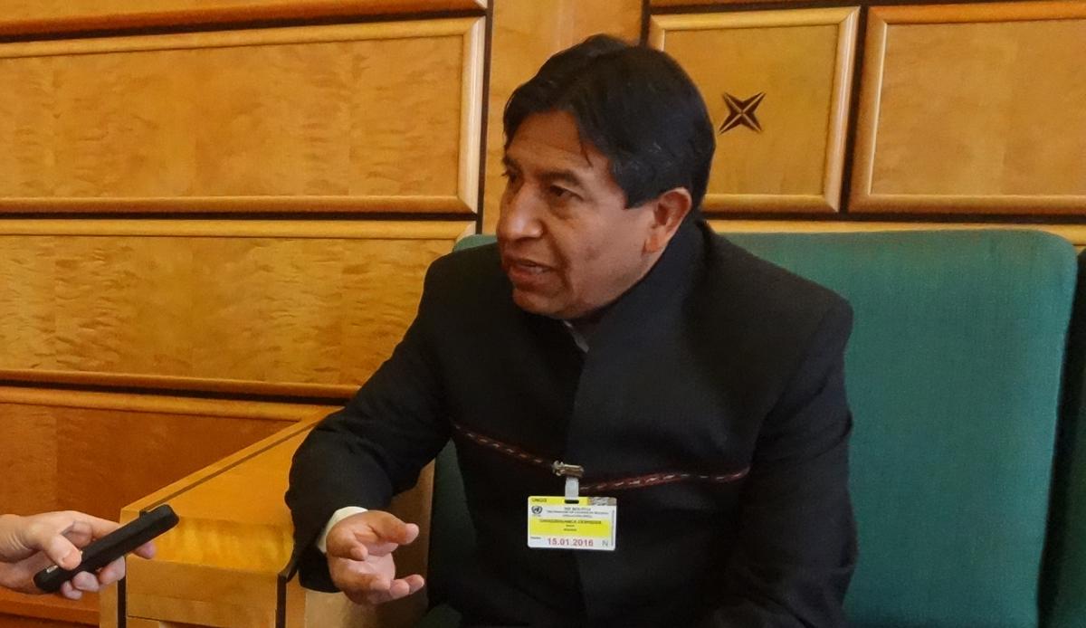 Canciller boliviano aboga en Ginebra por cambio de paradigma mundial