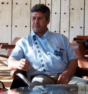 Marcial Gómez, dirigente de la Federación Nacional Campesina del Paraguay