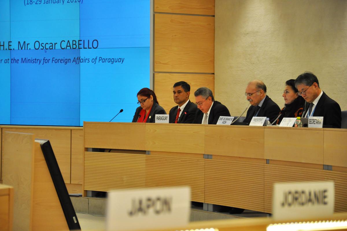 Paraguay se compromete en ONU a investigar ataques contra periodistas y defensores de DDHH