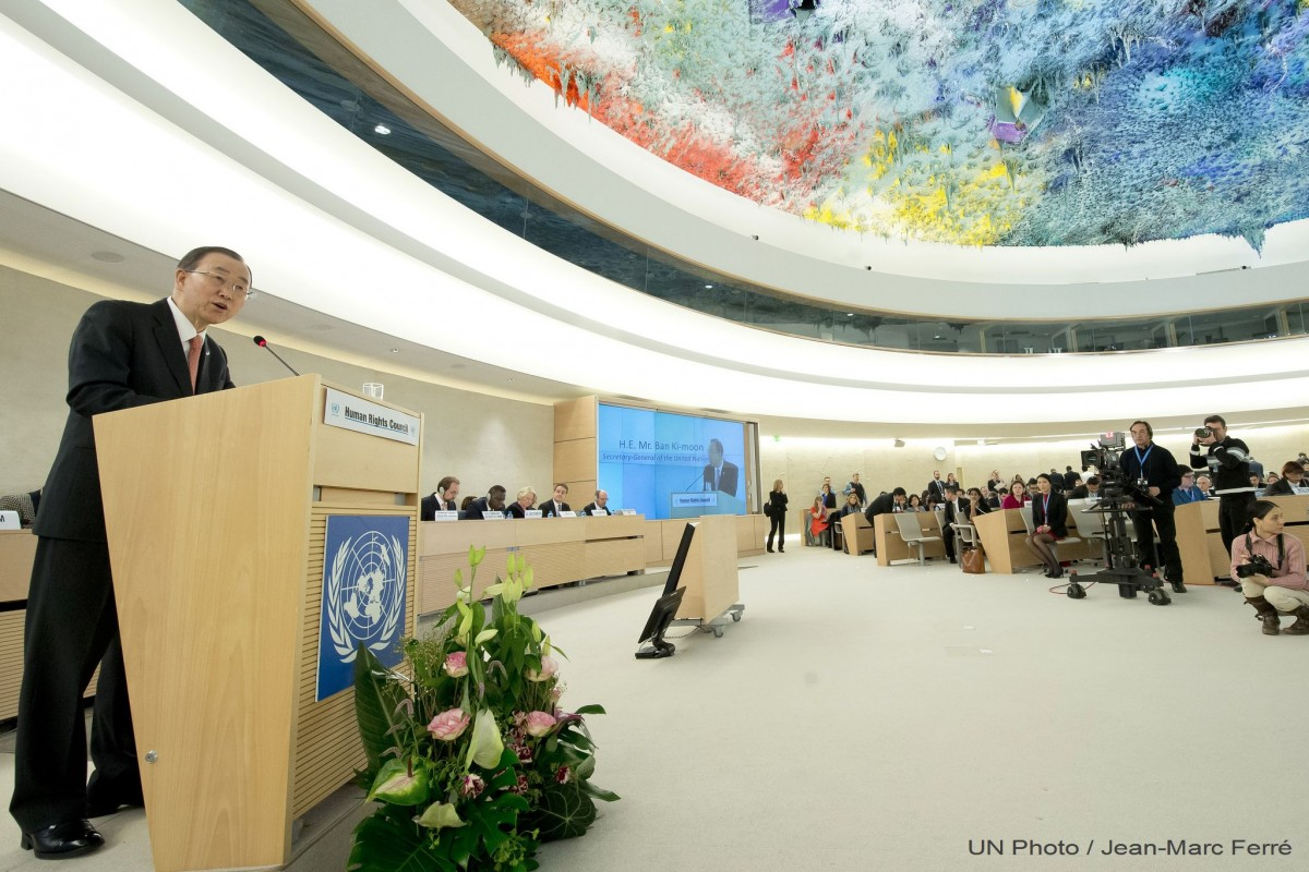 Construir muros más altos no ayuda en crisis migratoria: Ban Ki-moon
