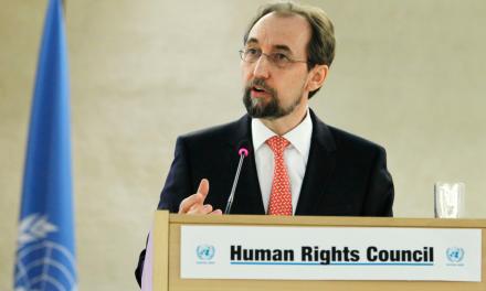 Duro pronunciamiento del Alto Comisionado para los Derechos Humanos