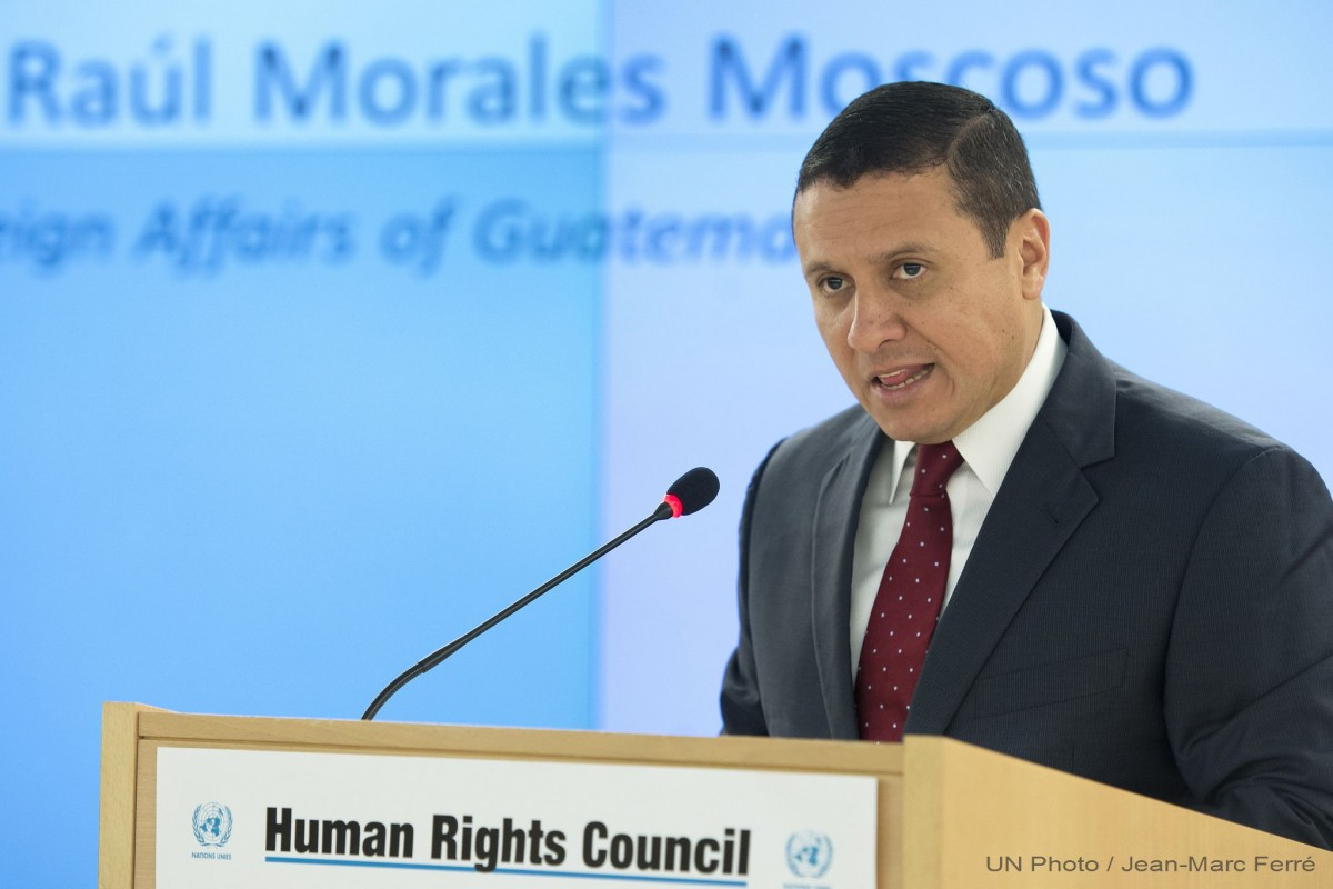 Guatemala aspira a un escaño en el Consejo de Derechos Humanos de la ONU