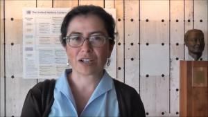 Sofía Monsalve, secretaria general de FIAN Internacional.