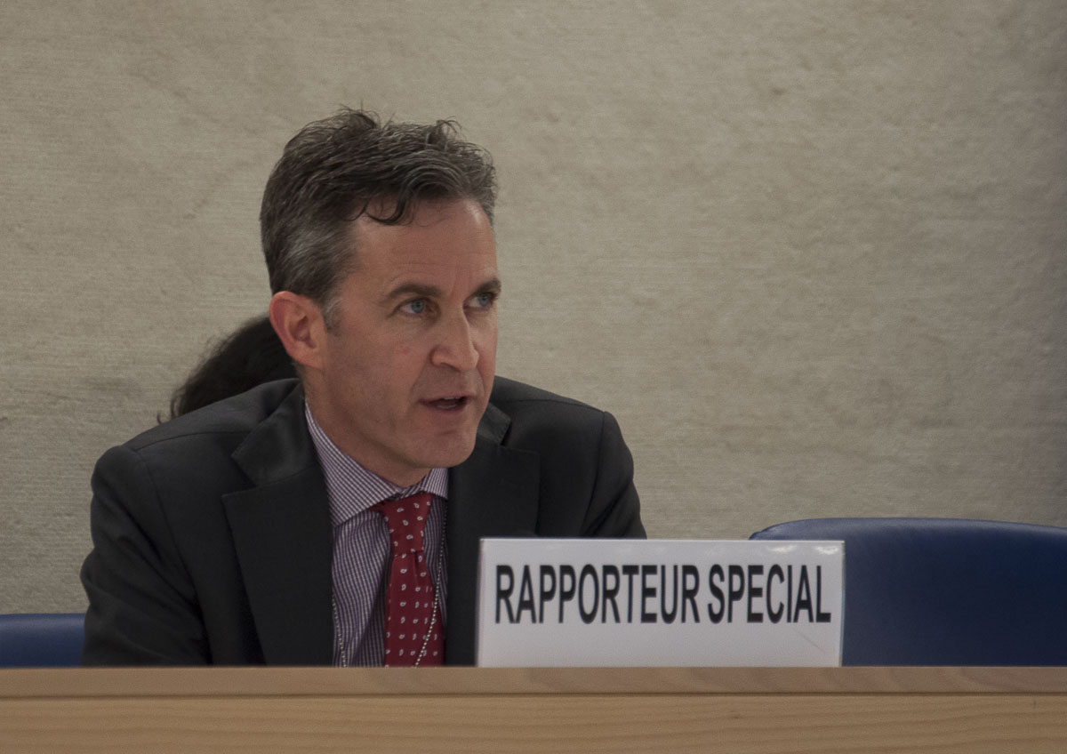 ONU llama al sector privado a asegurar libertad en línea