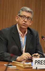 Ramón Muñoz es el director de la Red Internacional de Derechos Humanos (RIDH).