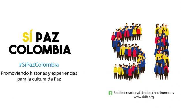 La paz en Colombia es un tema de derechos humanos y un acto político no partidista