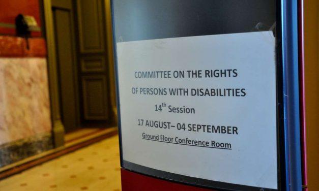 La ONU pidió a Uruguay una política de Estado en favor de las personas con discapacidad