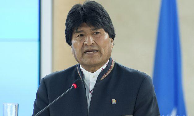 Evo Morales arremetió contra Chile en el Consejo de Derechos Humanos de la ONU