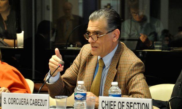 Santiago Corcuera es el nuevo presidente del Comité contra las Desapariciones Forzadas