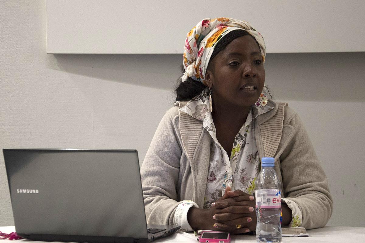 Erlendy Cuero, vicepresidenta de AFRODES