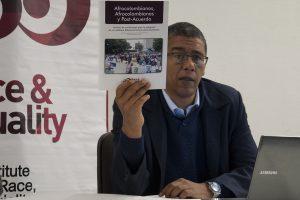 Pedro Cortés, representante en Colombia del Instituto sobre Raza, Igualdad y Derechos Humanos