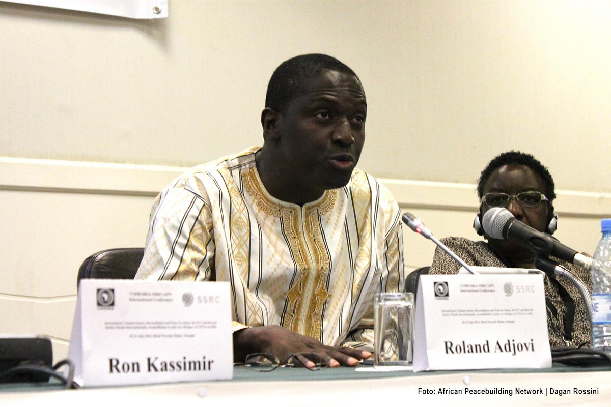Roland Adjovi, presidente del Grupo de Trabajo sobre Detención Arbitraria