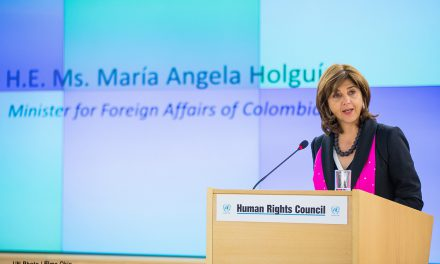 """""""Sí podemos decir que en Colombia no habrá impunidad"""": canciller María Ángela Holguín"""