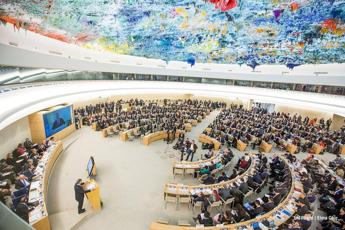 34.ª sesión del Consejo de Derechos Humanos