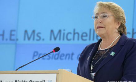 Michelle Bachelet criticó los muros en un discurso ante las Naciones Unidas