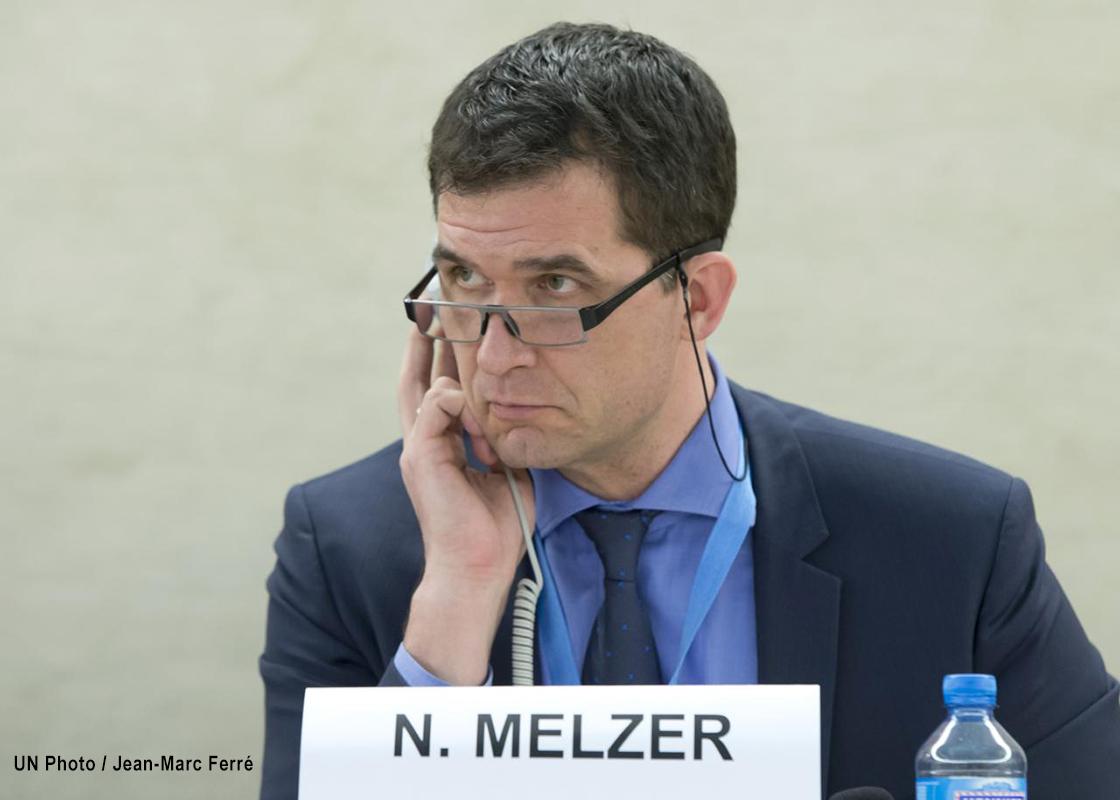Nils Melzer, relator especial contra la tortura.