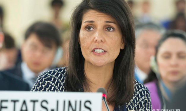 Nikki Haley addresses the Human Rights Council, challenging Venezuela's membership