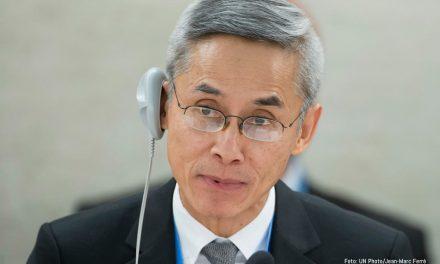 El experto independiente sobre orientación sexual e identidad de género presentó su primer informe en la ONU
