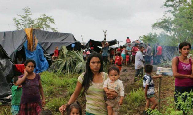 ONU urgió a Guatemala a dar atención a familias desplazadas por desalojos forzosos