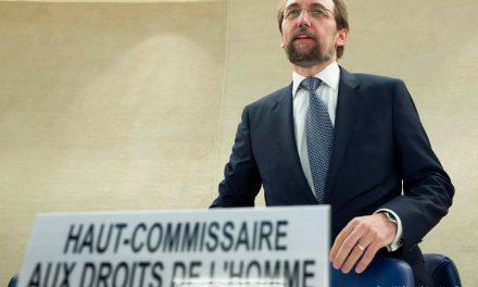 Alto comisionado de la ONU para los derechos humanos pidió una investigación internacional para Venezuela