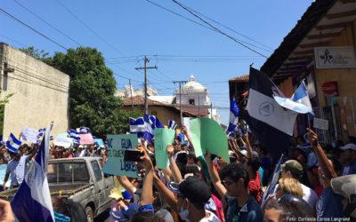 ACNUDH condenó ataques contra manifestantes y medios de comunicación en Nicaragua