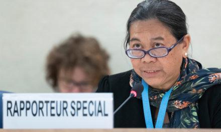 Una experta de la ONU aseguró que El Salvador no ha reconocido la crisis de desplazamiento interno