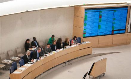 El Consejo de Derechos Humanos de la ONU adoptó una resolución sobre Nicaragua