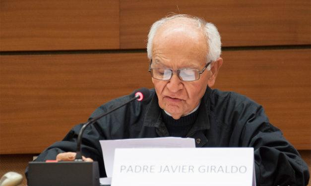 """""""En Colombia no tenemos esperanza de que la justicia interna haga algo"""": padre Javier Giraldo"""