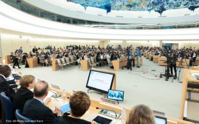 Empezó la segunda sesión anual del Consejo de Derechos Humanos de la ONU